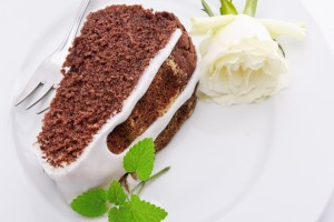 Cake White Rose Food Wallpaper