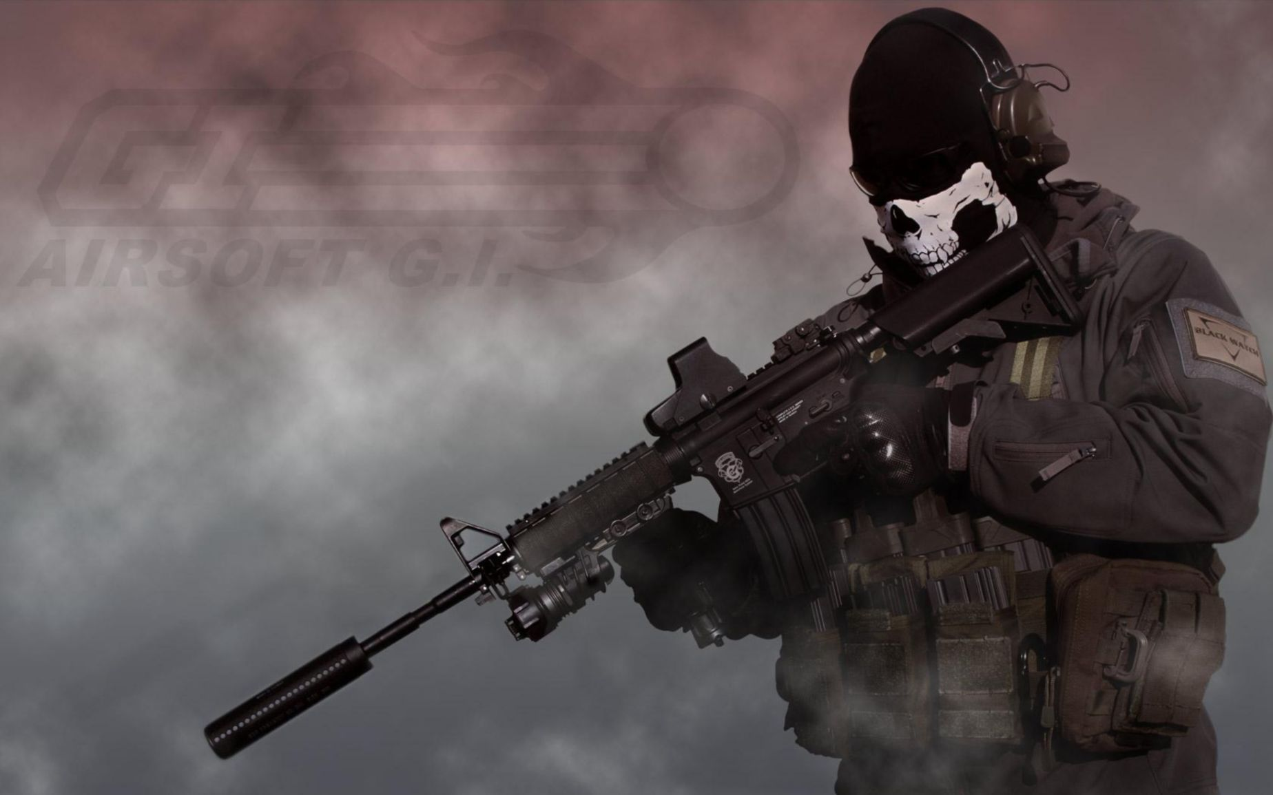 Download free HD Call Of Duty Ghosts 1600×900 Free Wallpaper, image