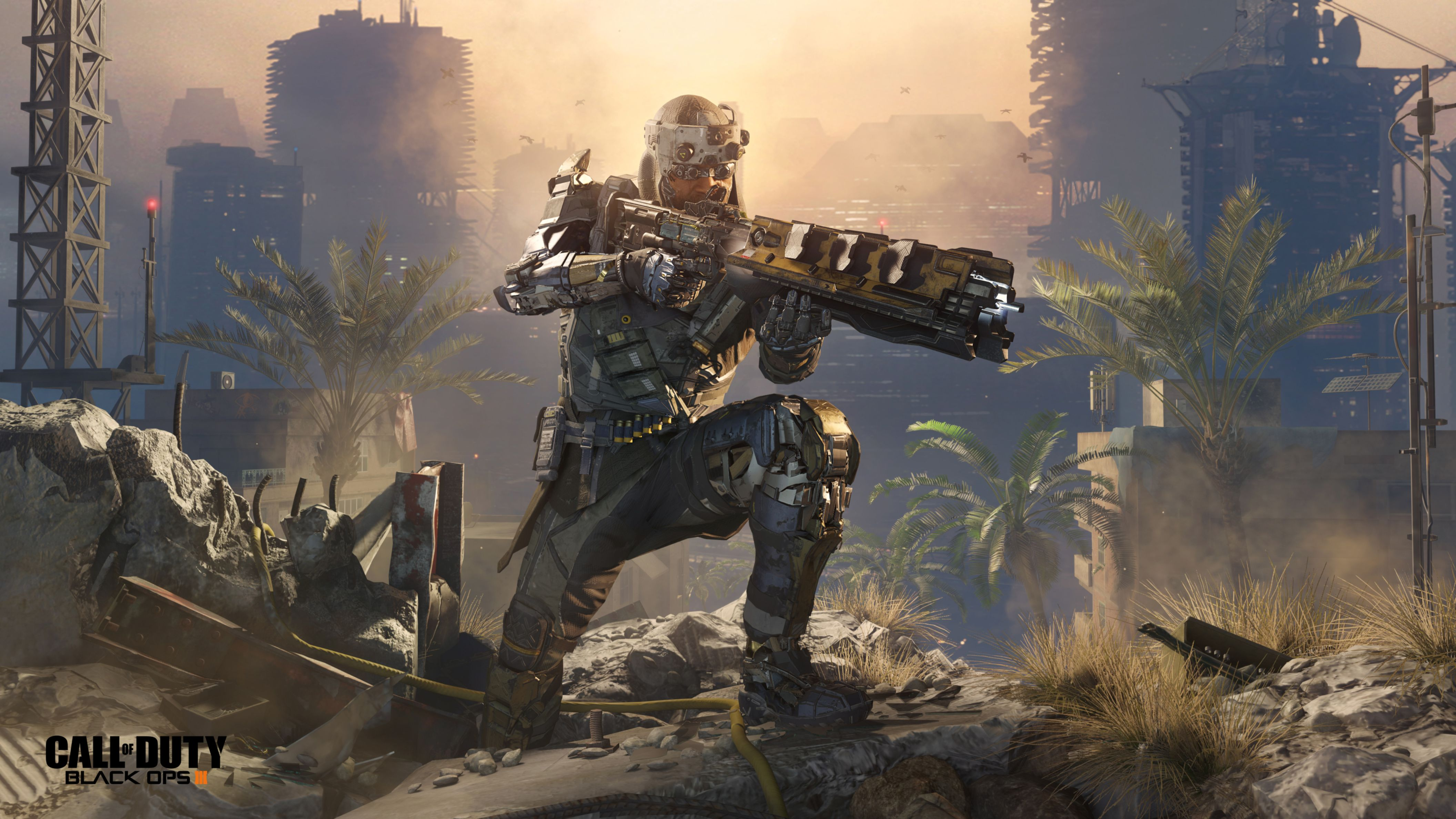 Download free HD Call of Duty Black Ops 3 Specialist Prophet HD Wallpaper, image