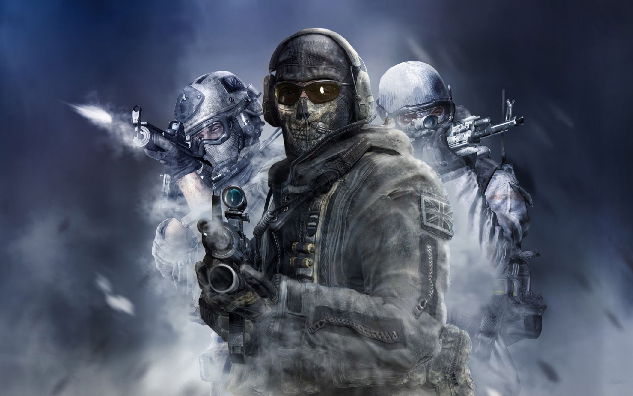 Download free HD Call of Duty Modern Warfare Wide Wallpaper, image