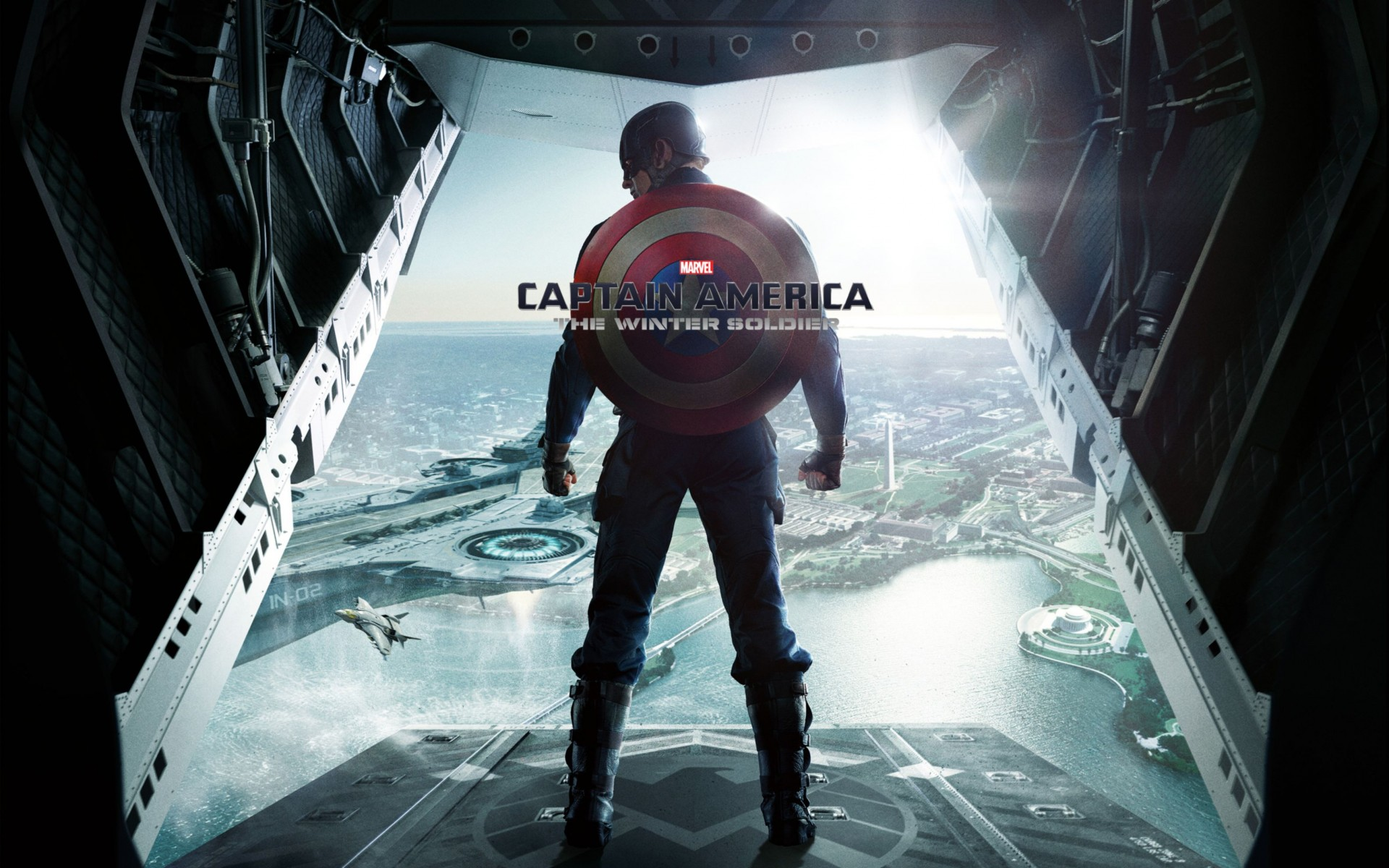 Captain America The Winter Soldier Wide Wallpaper