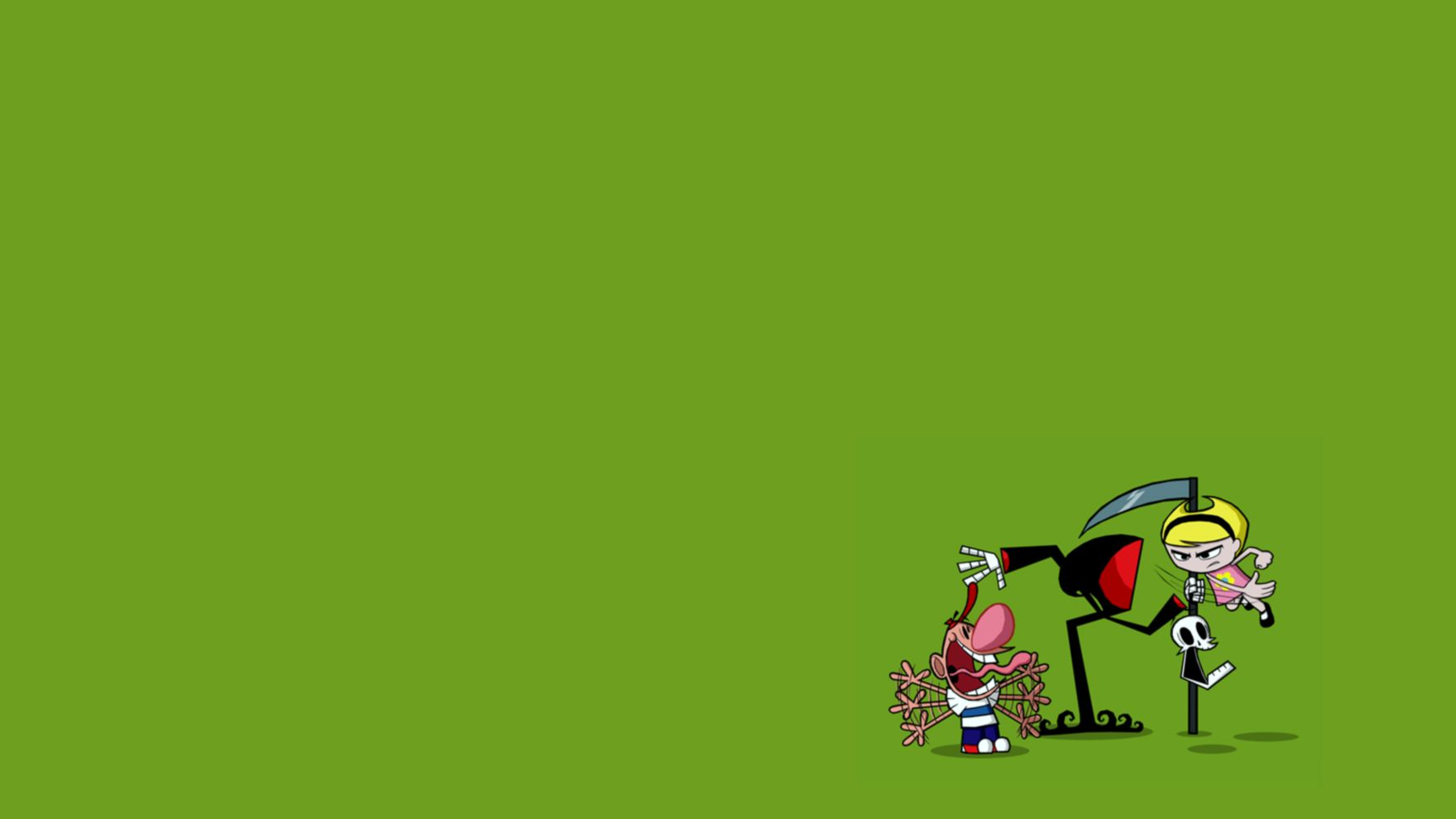 Download free HD Cartoon Green Network HD Free  Wallpaper, image