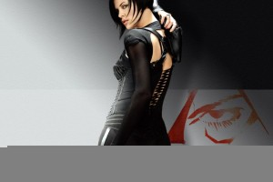 Charlize Theron in Aeonflux Wallpaper