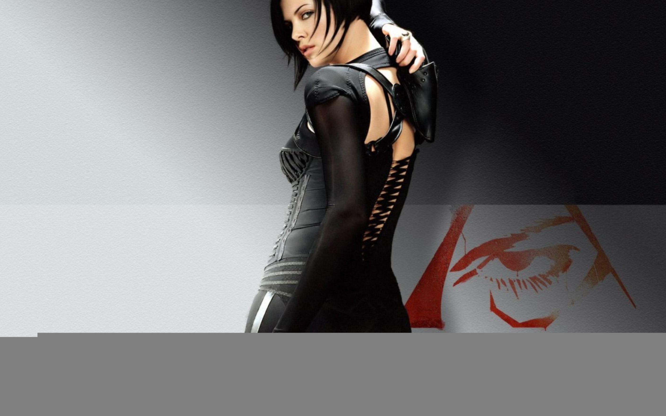 Download free HD Charlize Theron in Aeonflux Wallpaper, image