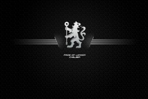 Chelsea Logo Black HD Wallpaper