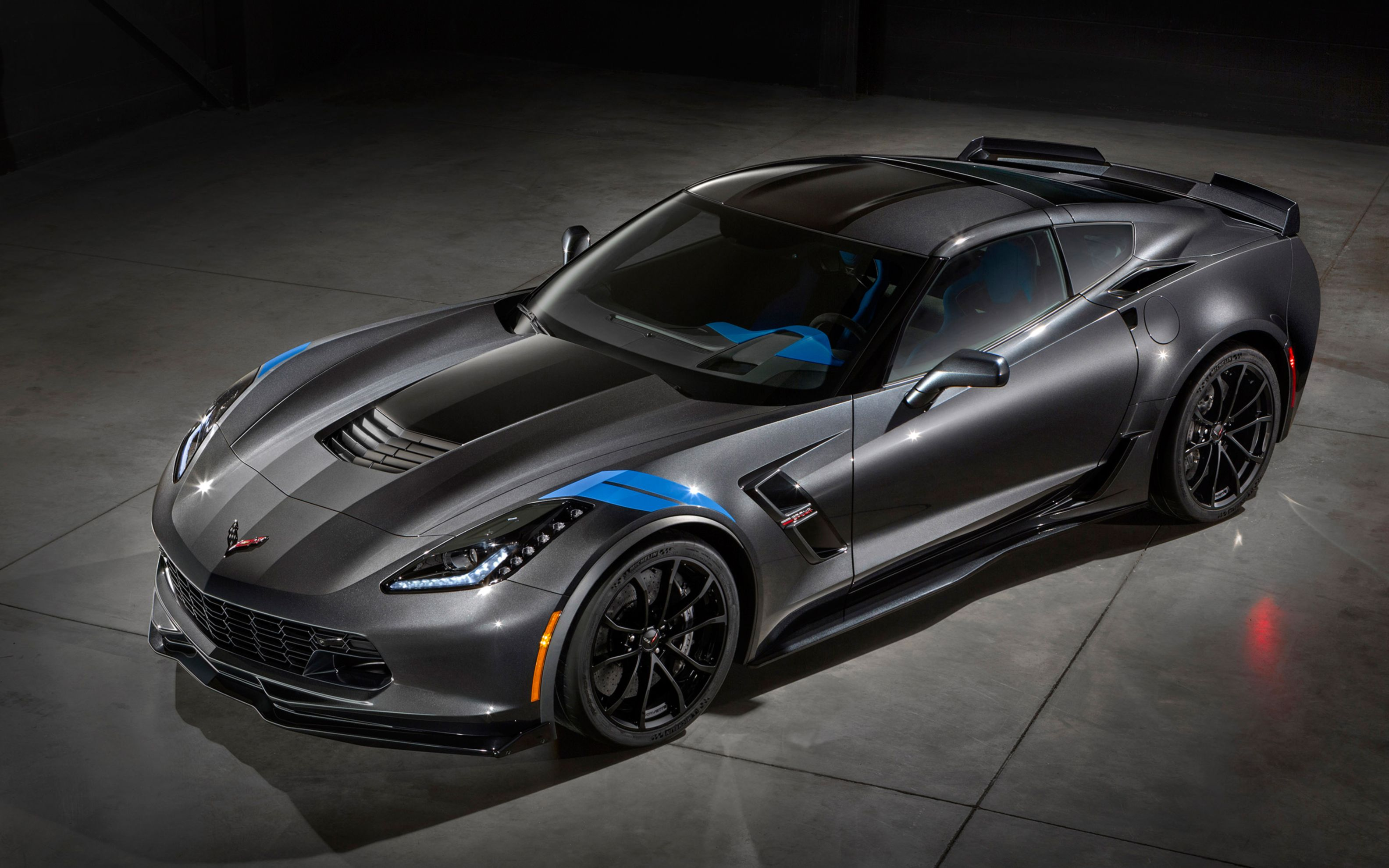 Download free HD Chevrolet Corvette Grand Sport 2017 Wide Wallpaper, image
