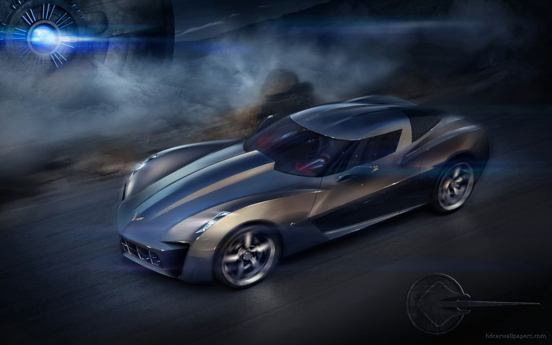 Download free HD Chevrolet Corvette Stingray Concept Wide Wallpaper, image