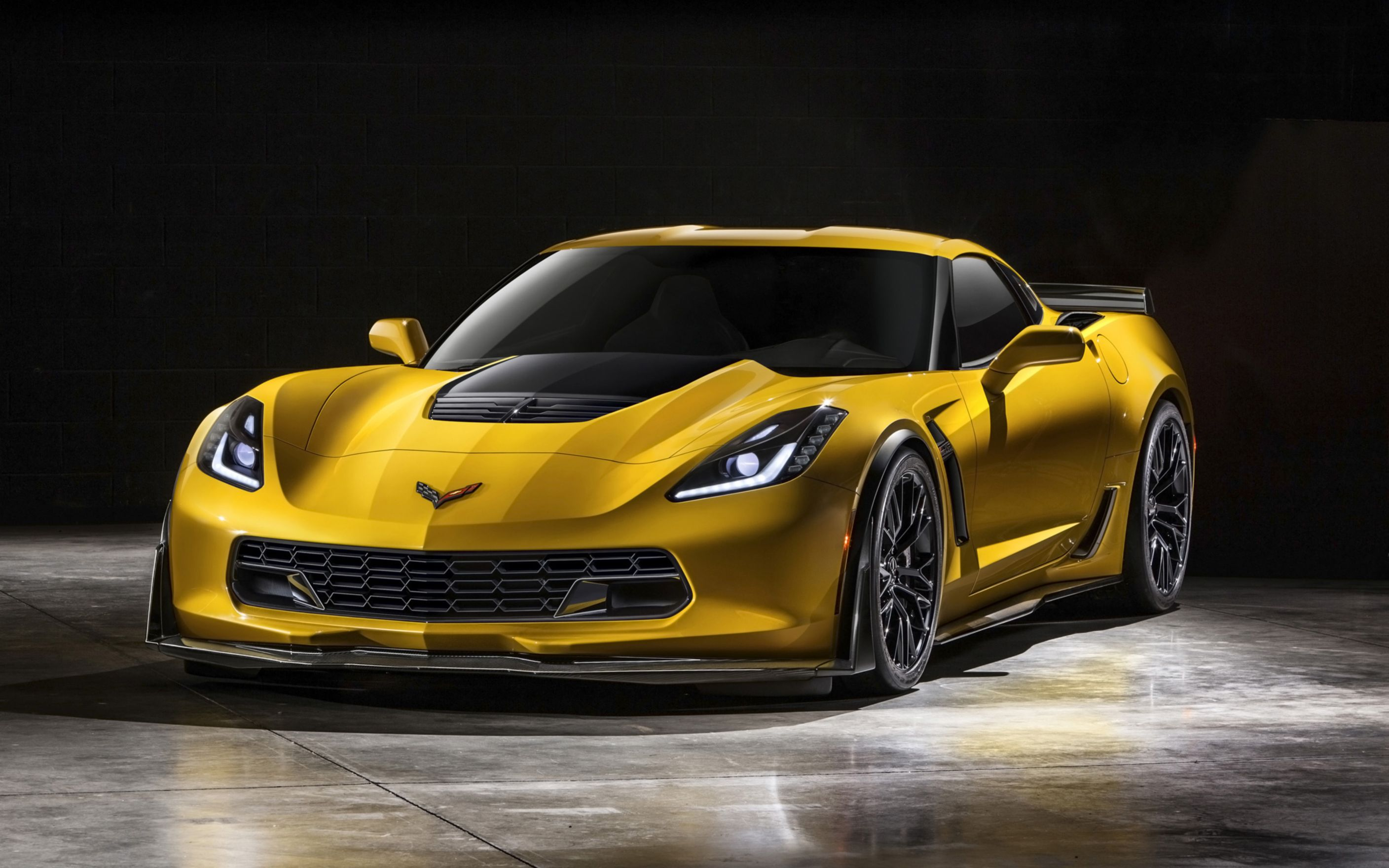 Download free HD Chevrolet Corvette Z06 2015 Wide Wallpaper, image
