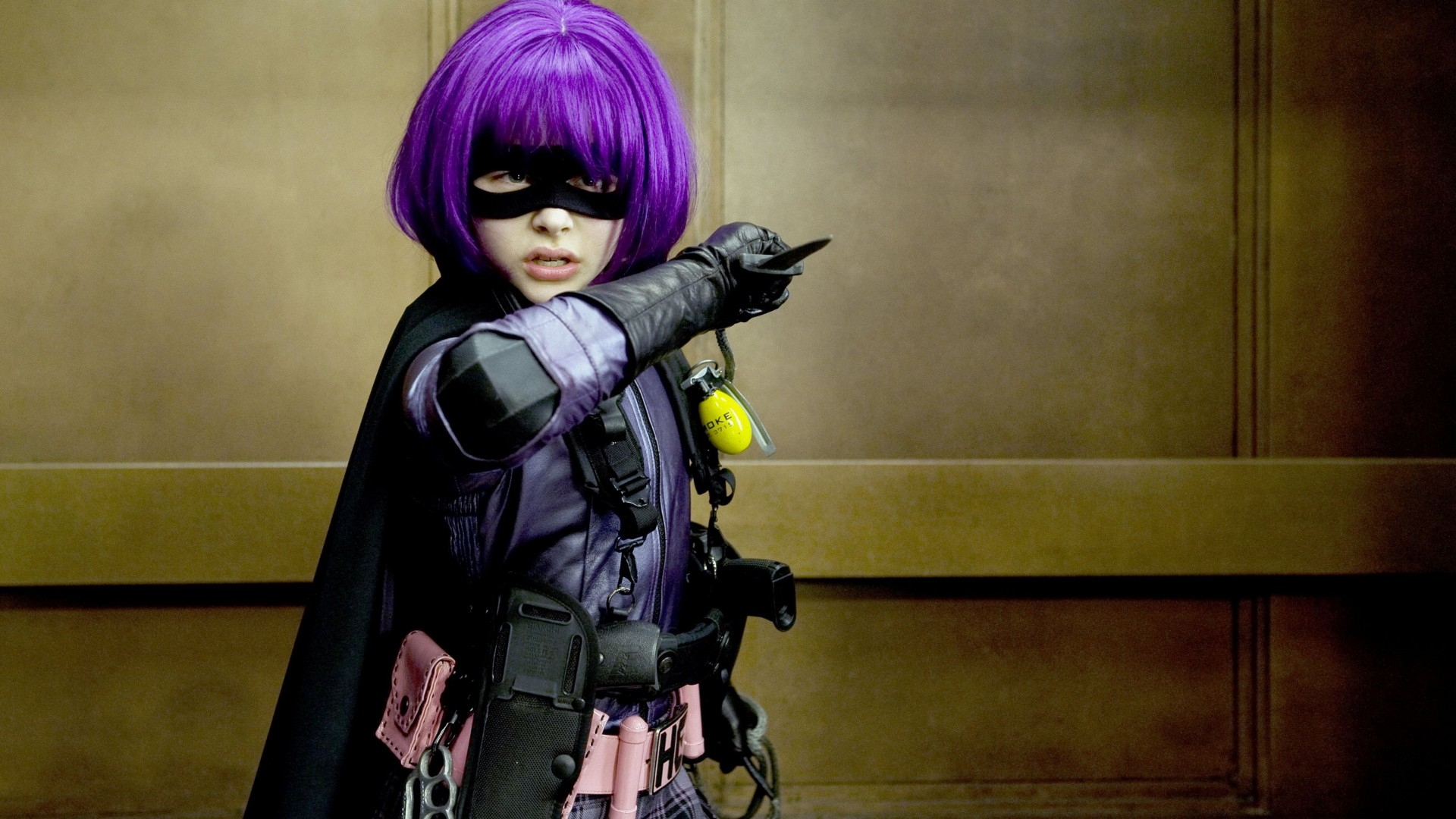 Chloe Moretz Kick Ass Hit Girl HD Wallpaper