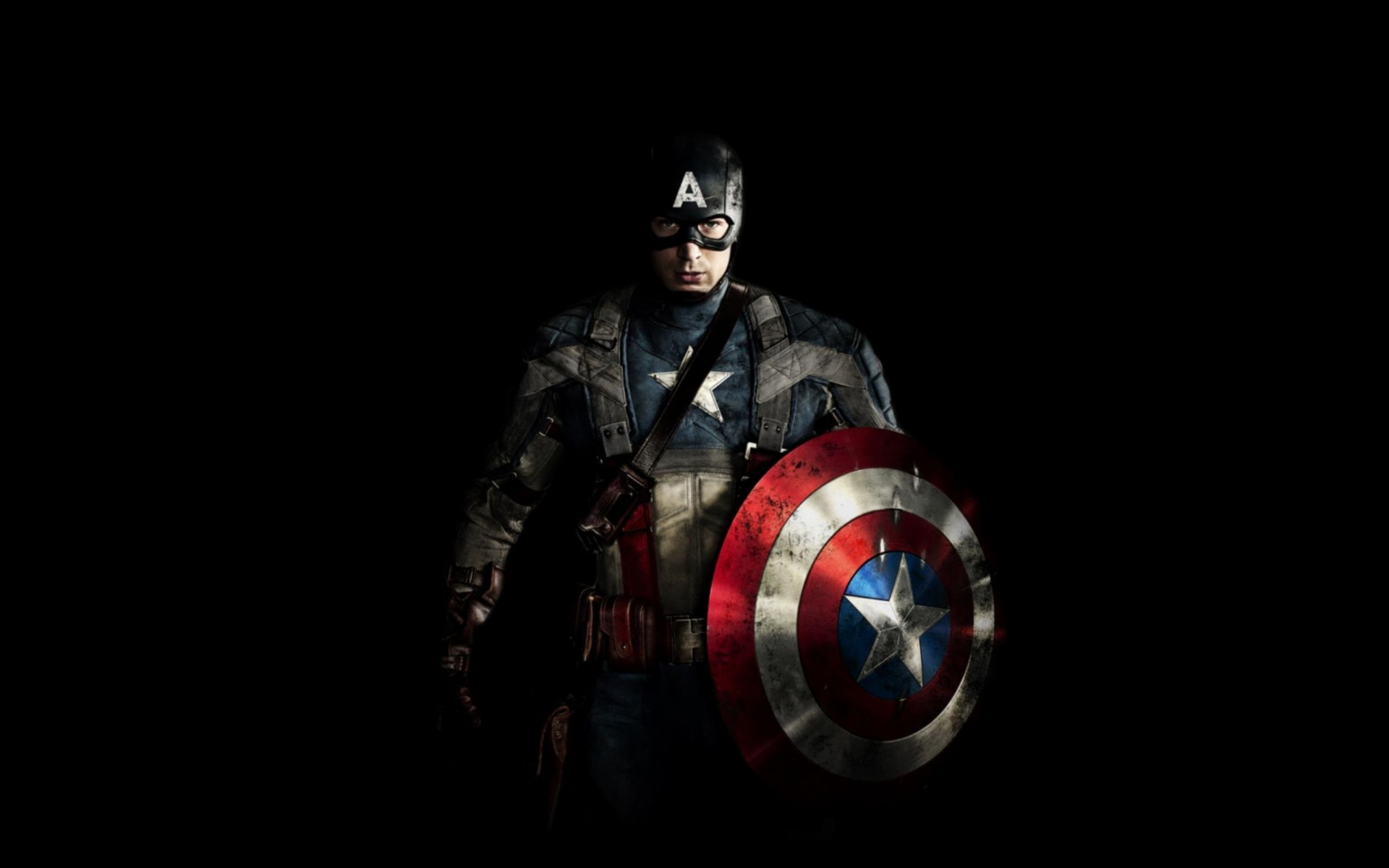 Chris Evans is Captain America Wallpaper