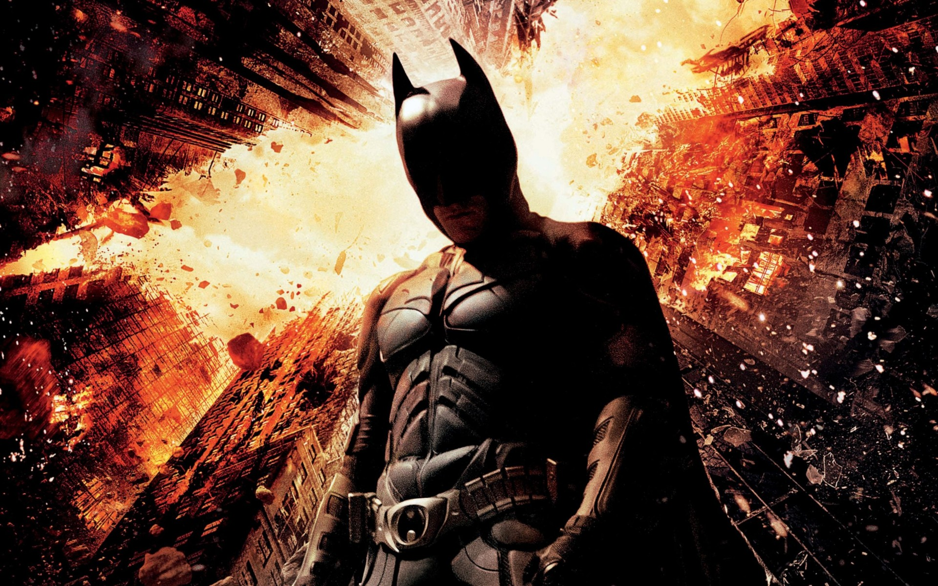 Christian Bale Dark Knight Rises Wide Wallpaper