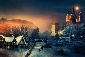Christmas Winter HD Wallpaper