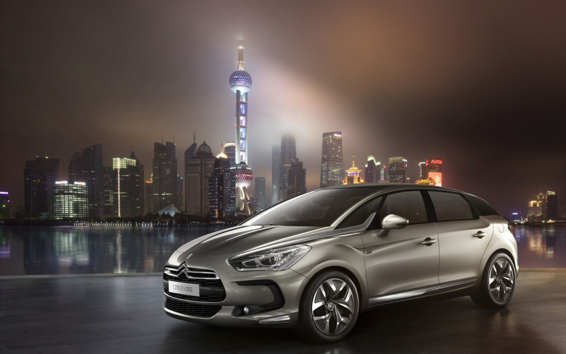 Citroen DS5 2012 Wide Wallpaper
