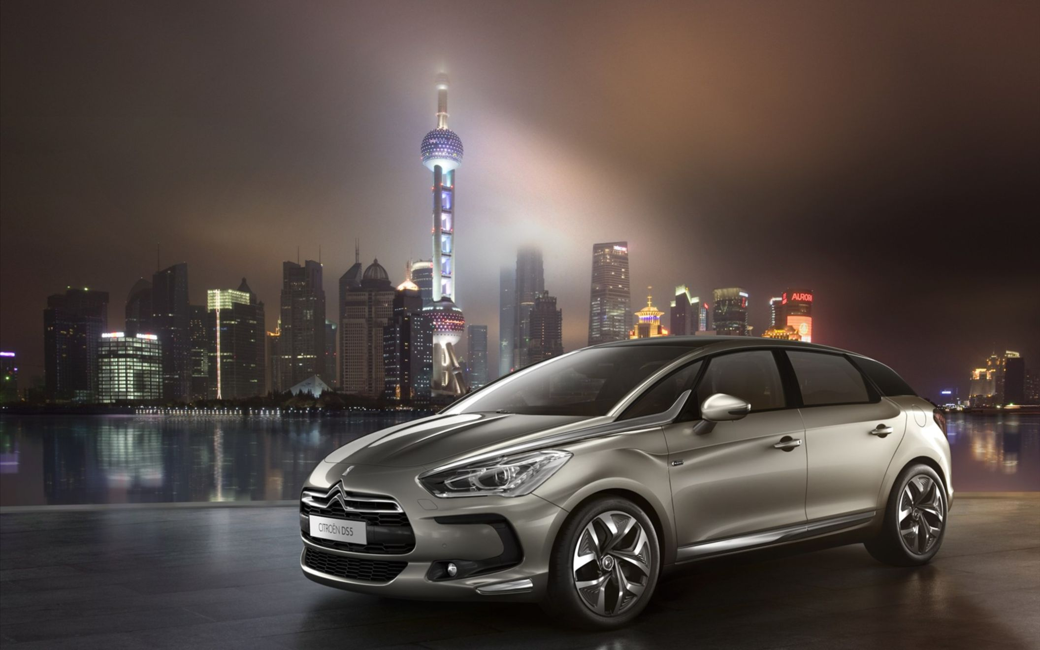 Download free HD Citroen DS5 2012 Wide Wallpaper, image