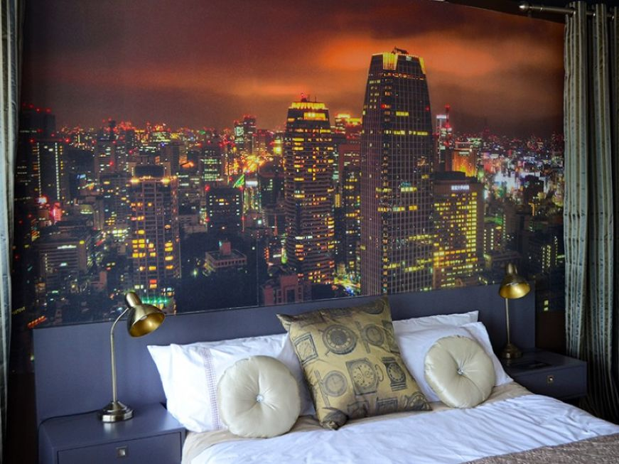 Merveilleux City For Bedroom Designs Wallpaper