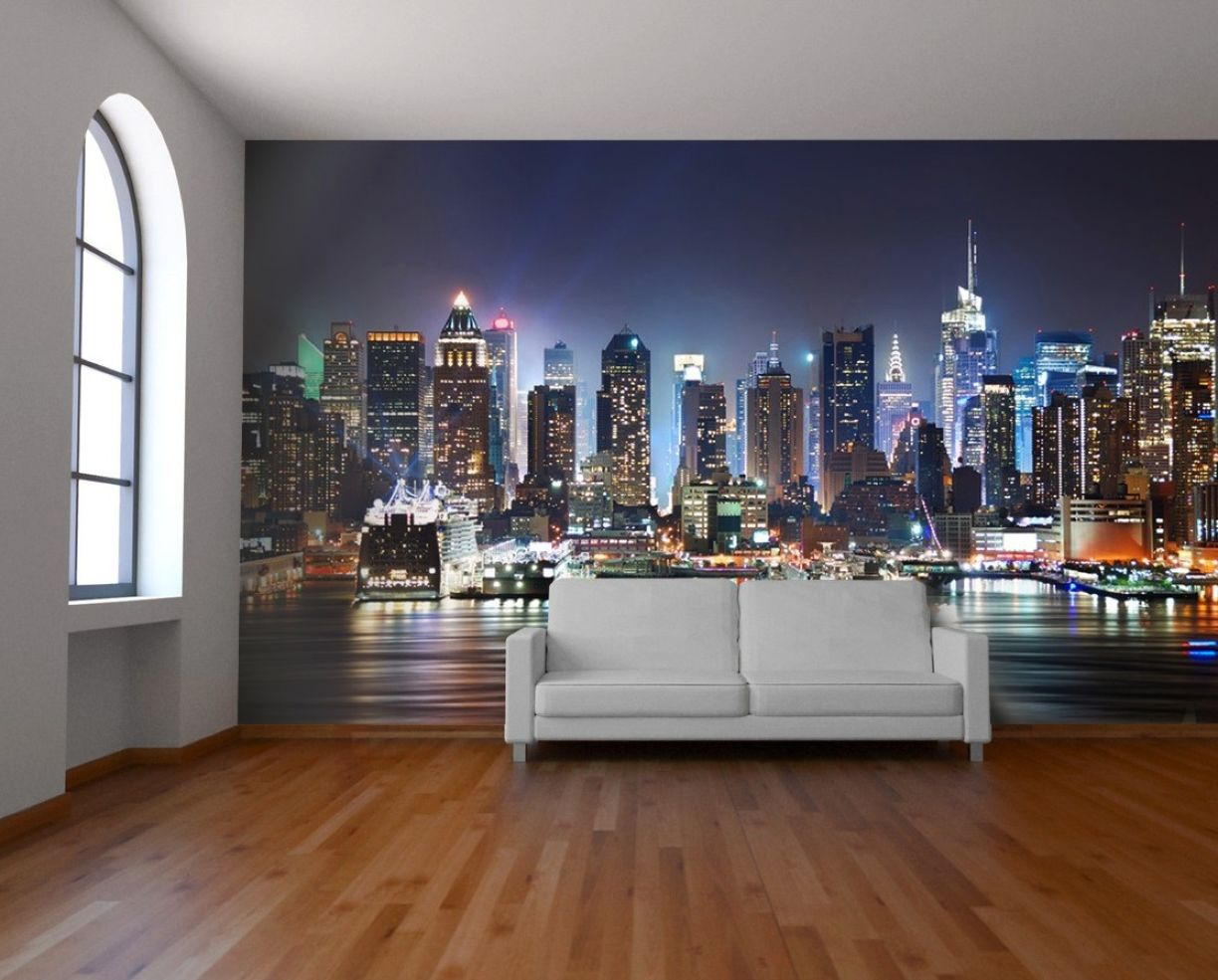 City For Bedroom Wallpaper