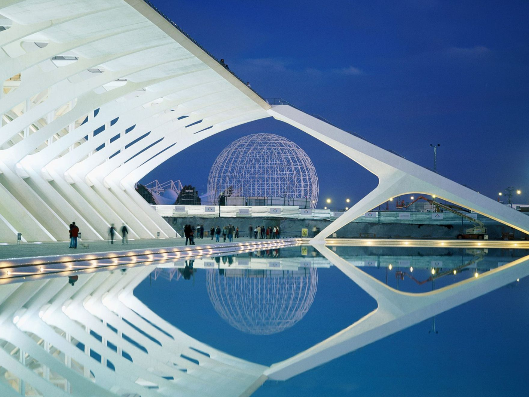 Download free HD City of Arts and Sciences Spain Normal Wallpaper, image
