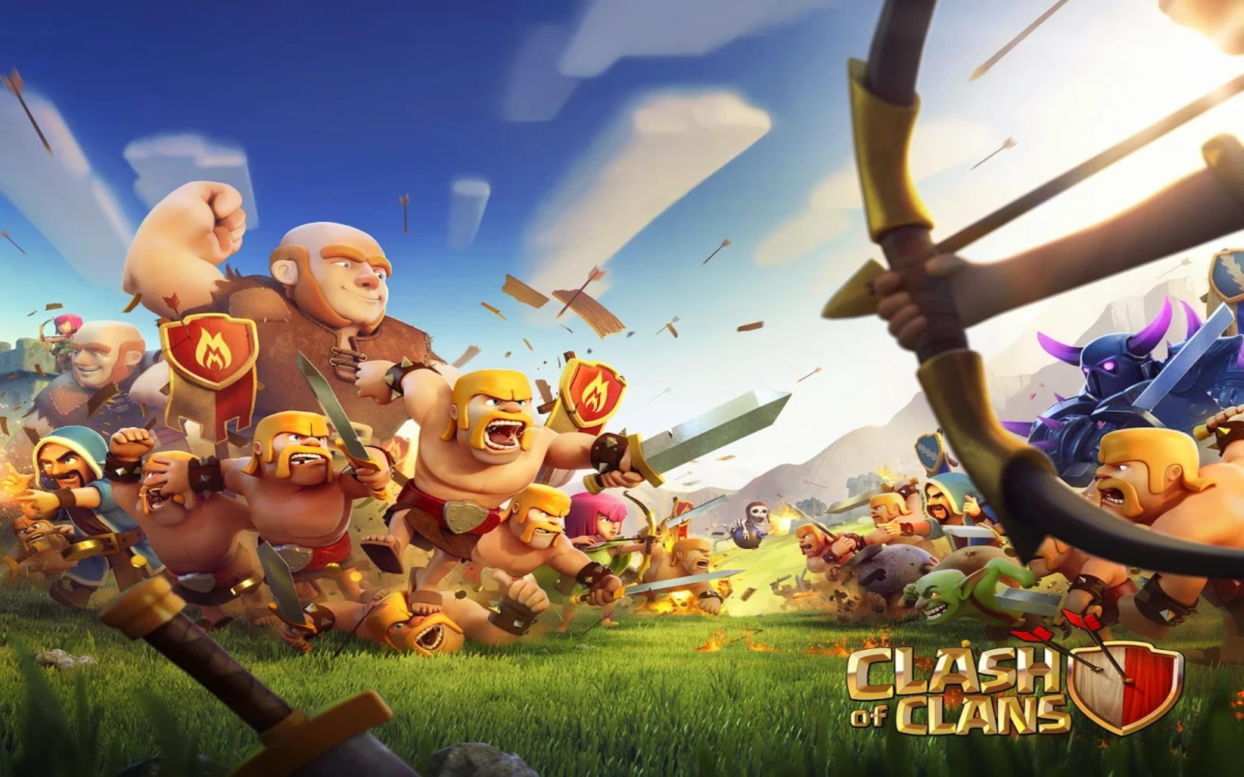 Download free HD Clash Of The Clan HD Wallpaper, image