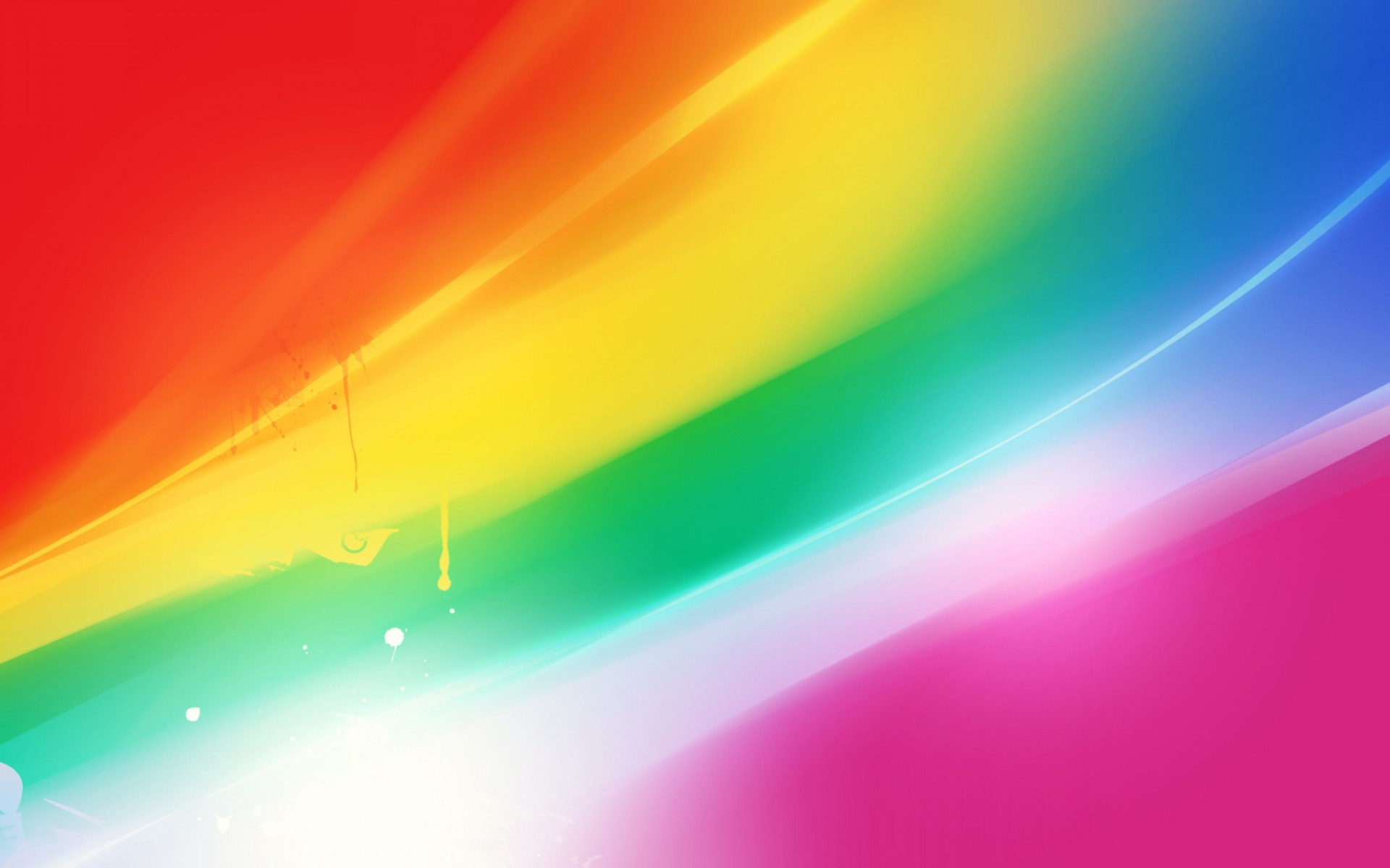 Colorful Abstraction Wide Wallpaper
