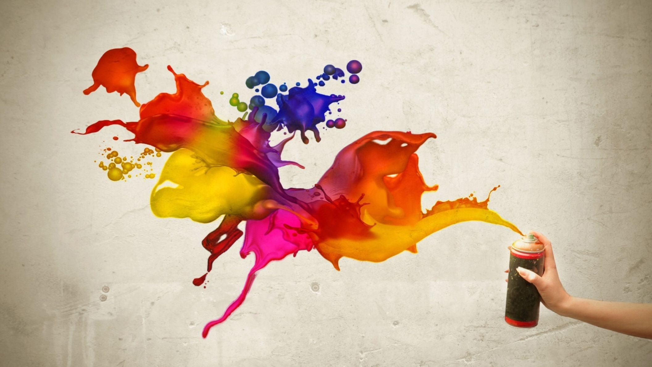 Download free HD Colorful Art Paint Wallpaper, image