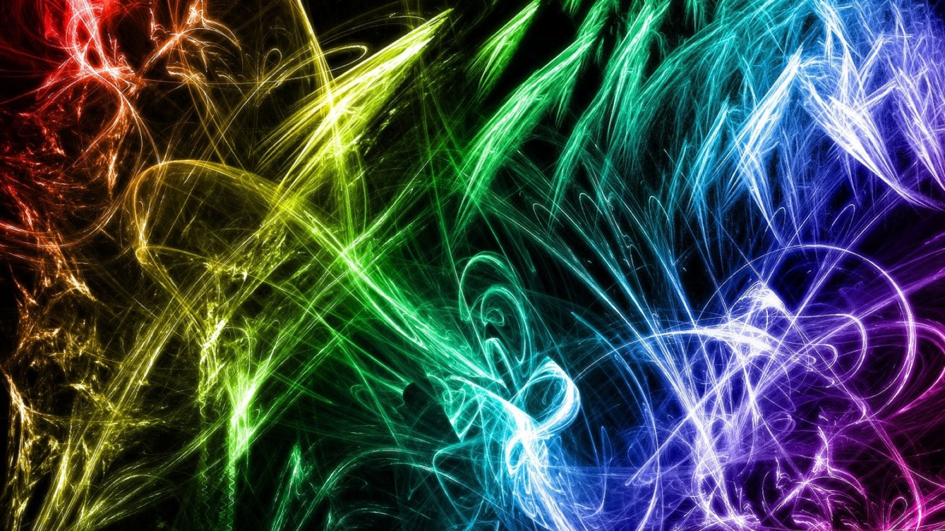 Colorful Cool Abstract Backgrounds Wallpaper: Desktop HD