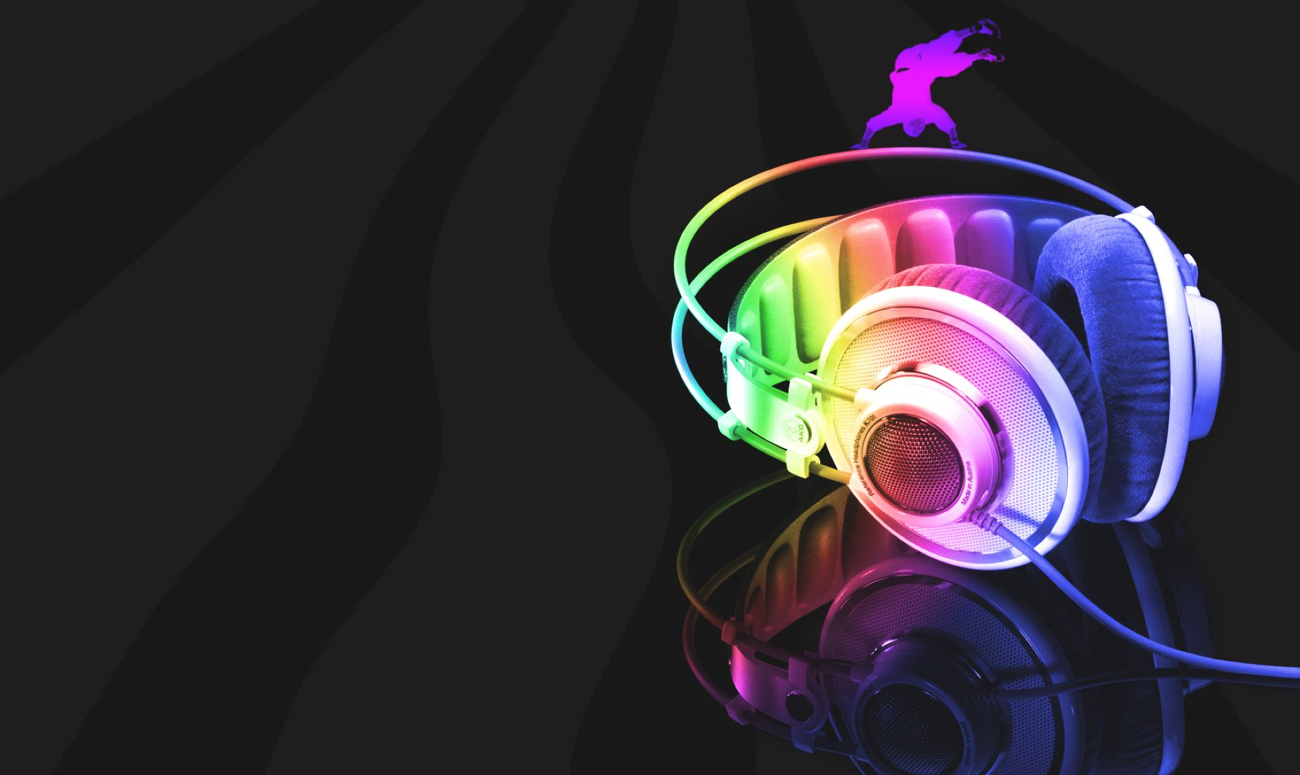 Cool 3D Headphone Music HD for Mobile Wallpaper: Desktop ...