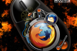 Cool 3d Mozilla Firefox  Wallpaper