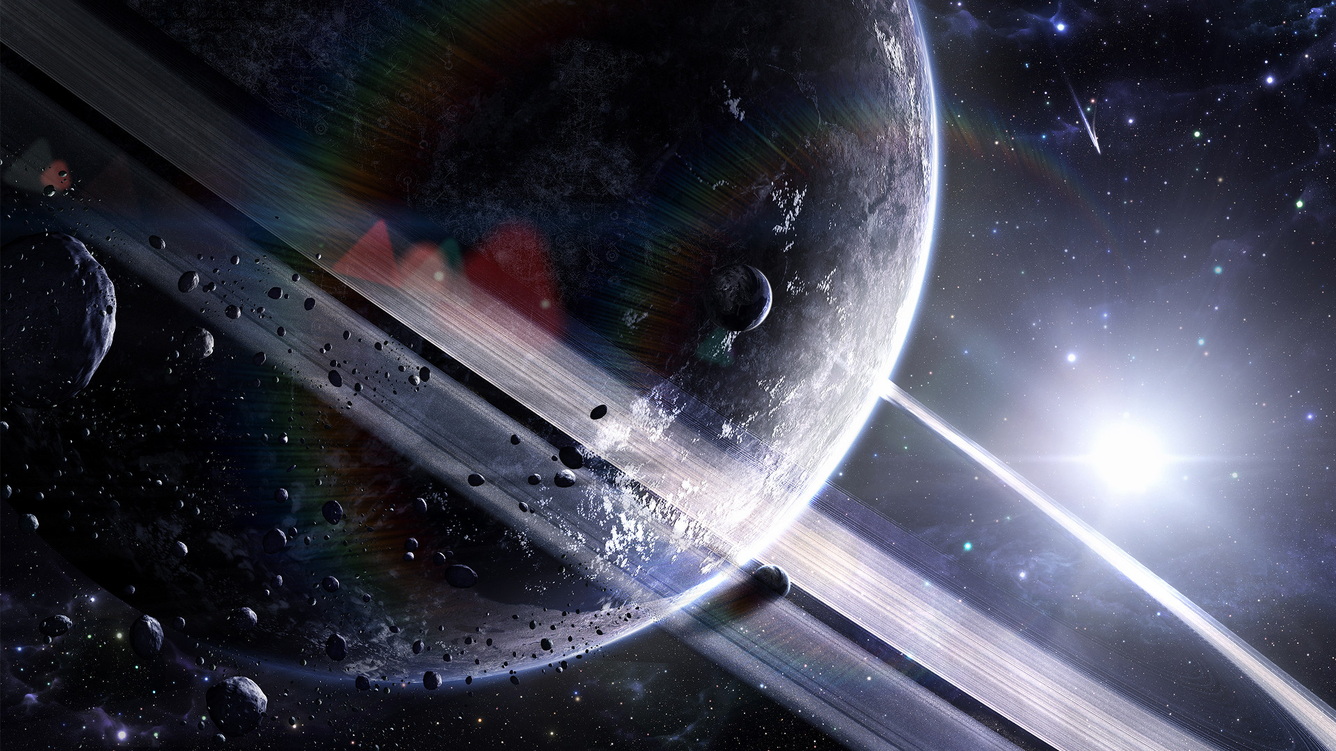 Cool 3D Space HD Wallpaper