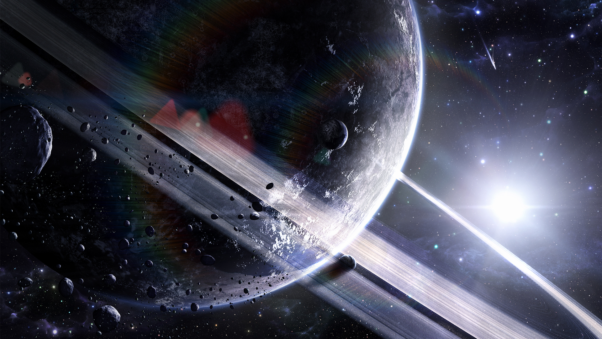 Download free HD Cool 3D Space HD Wallpaper, image