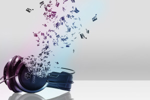 Cool Abstract Music Headphone S Wallpaper