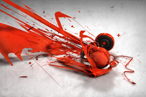 Cool Abstract Music Image Wallpaper