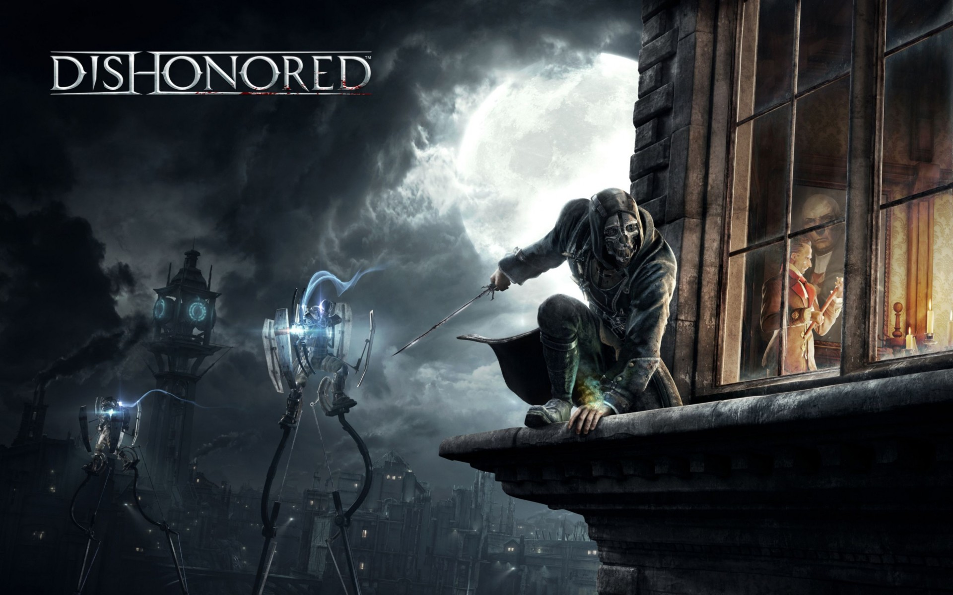 Corvo Attano In Dishonored Wide Wallpaper