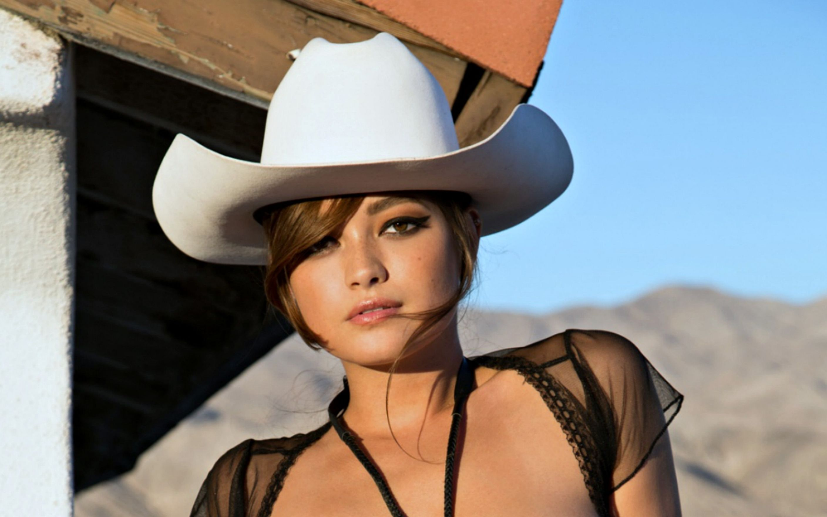 Download free HD Cowgirl Chelsie Aryn Wallpaper, image