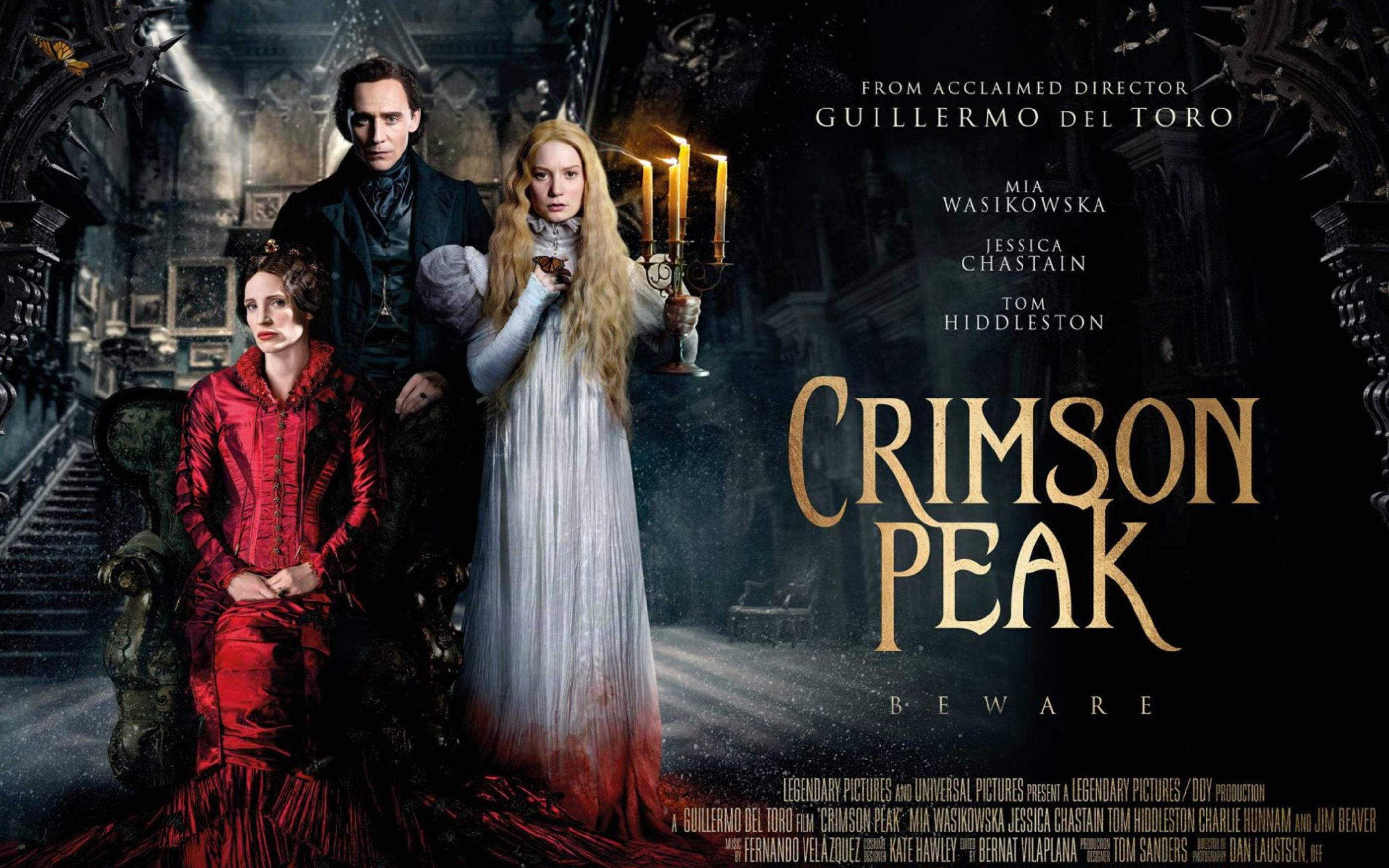 Download free HD Crimson Peak 2015 Movie Wallpaper, image