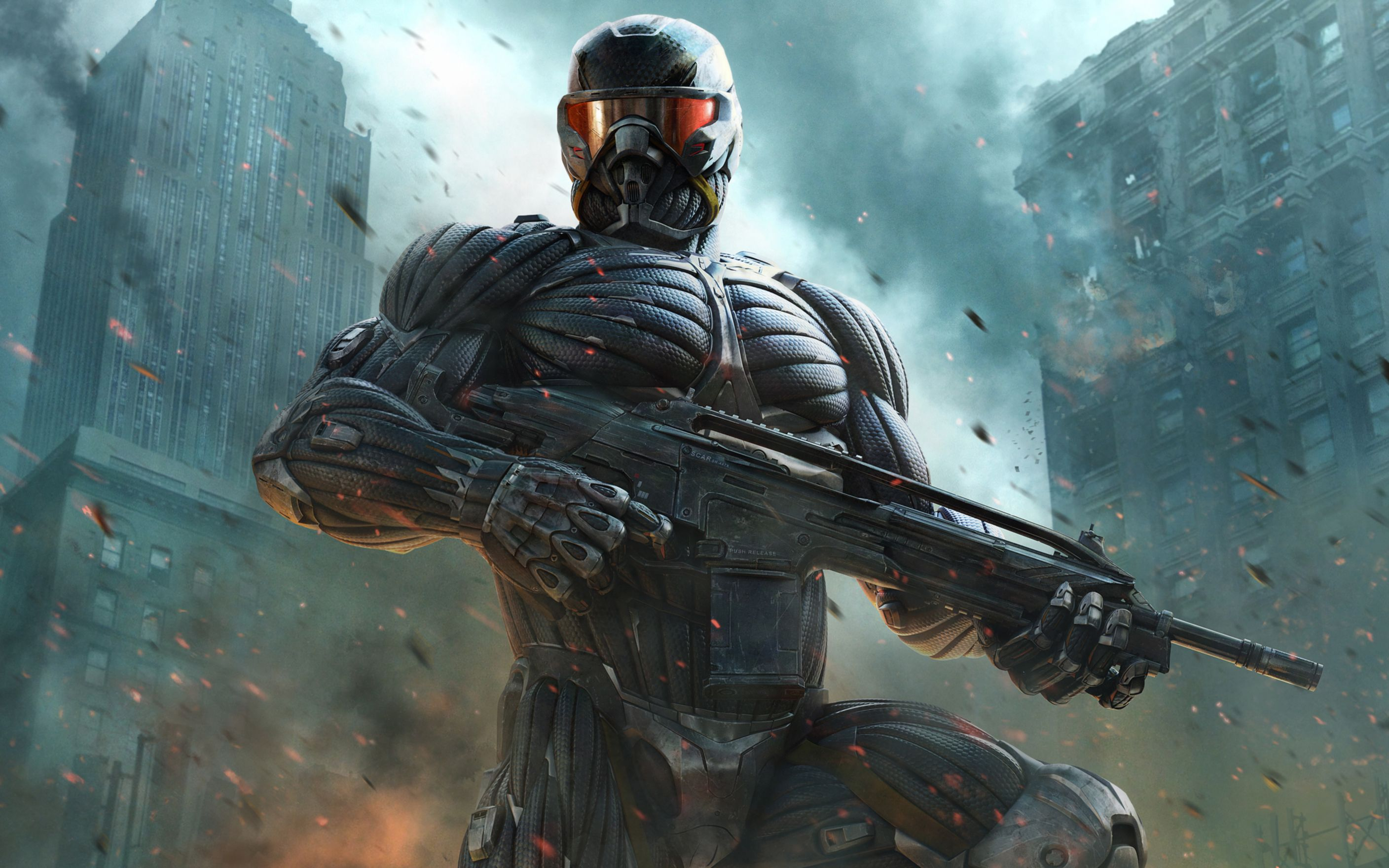 Download free HD Crysis 2 Fps Game Wide Wallpaper, image