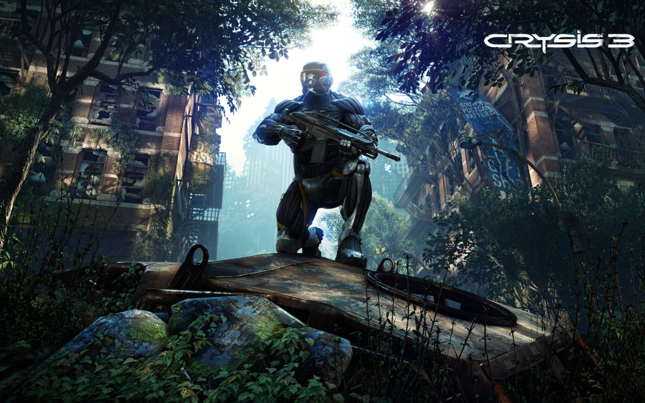 Download free HD Crysis 3 New 2013 Wide Wallpaper, image