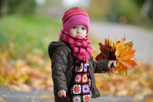 Download Cute Baby In Autumn Wide Wallpaper Free Wallpaper on dailyhdwallpaper.com