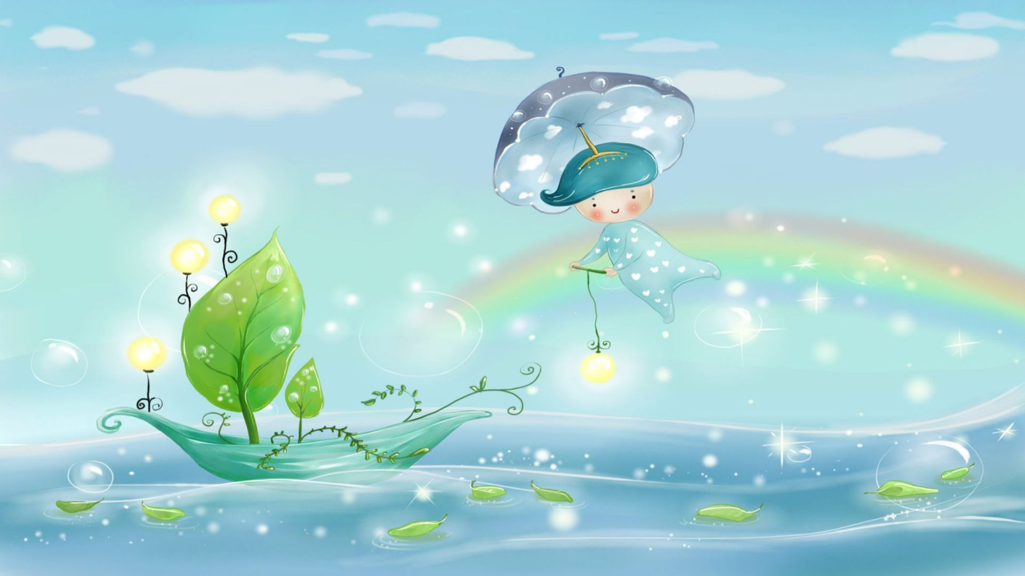 Download free HD Cute Cartoon HD 1920×1080 Wallpaper, image