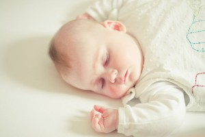 Cute Sleeping Baby Wide Wallpaper