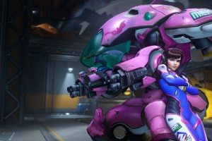 D Va Overwatch HD Wallpaper