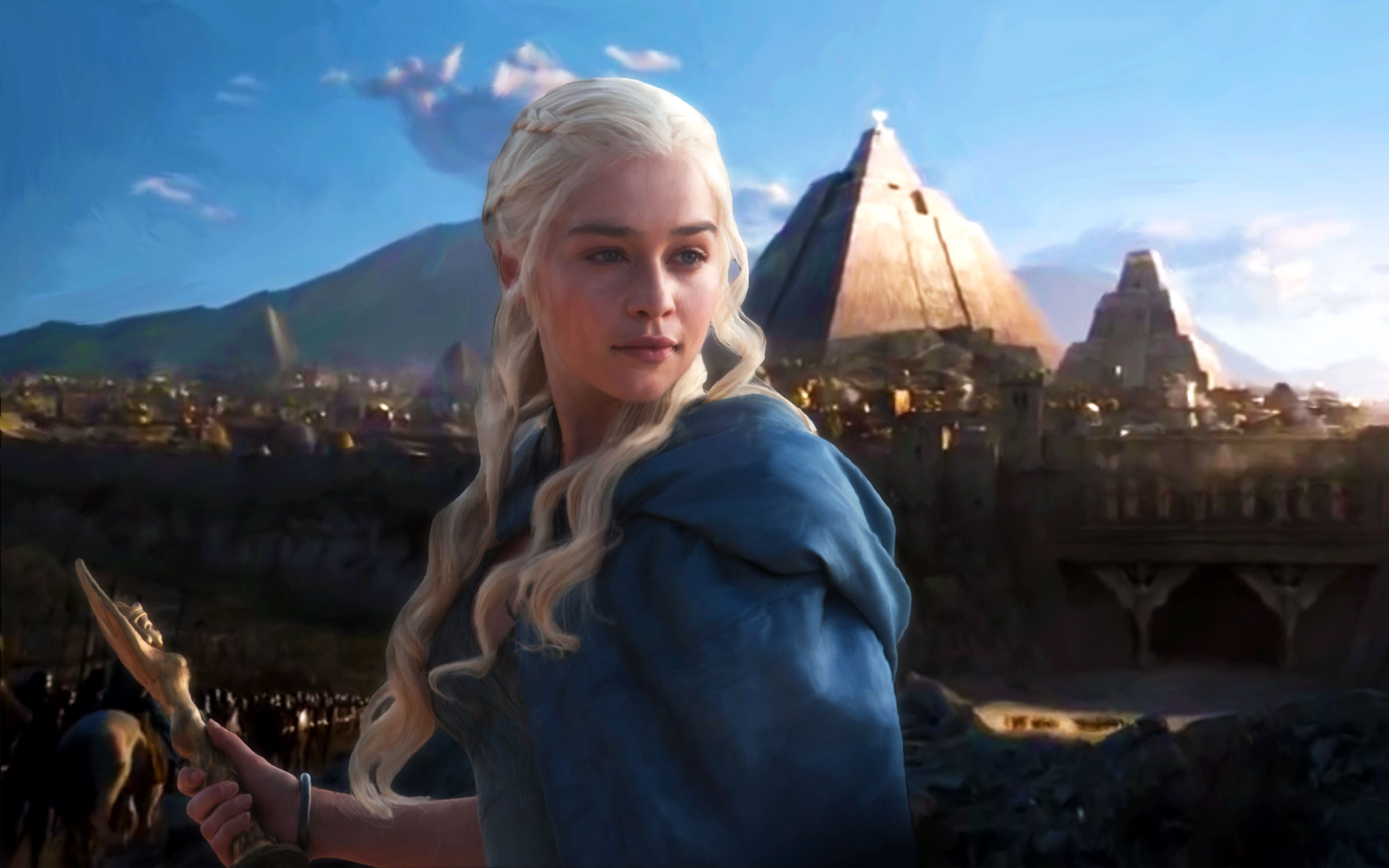 Download free HD Daenerys Targaryen Season 5 Wide Wallpaper, image