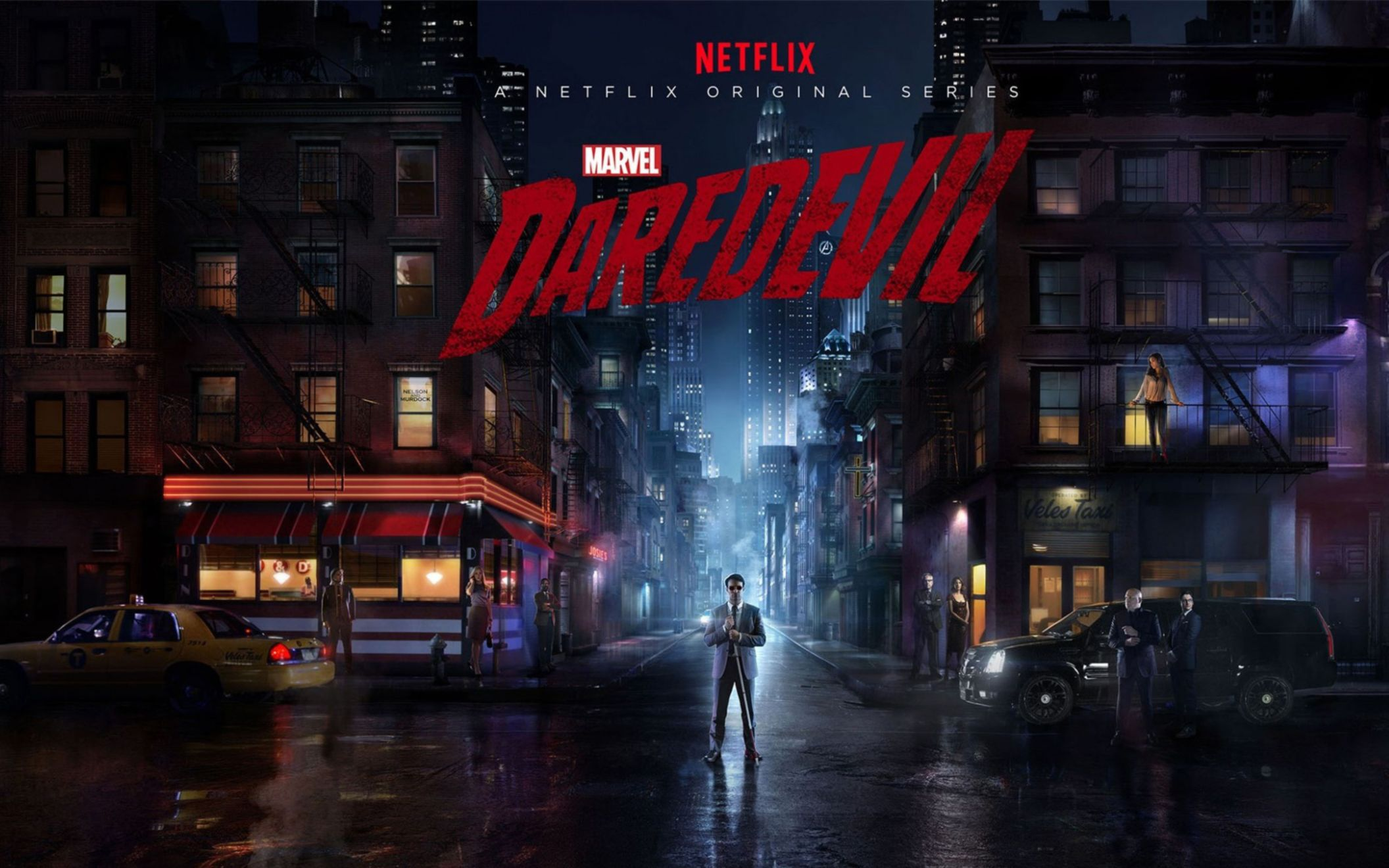 Download free HD Daredevil 2015 TV Series Wide Wallpaper, image