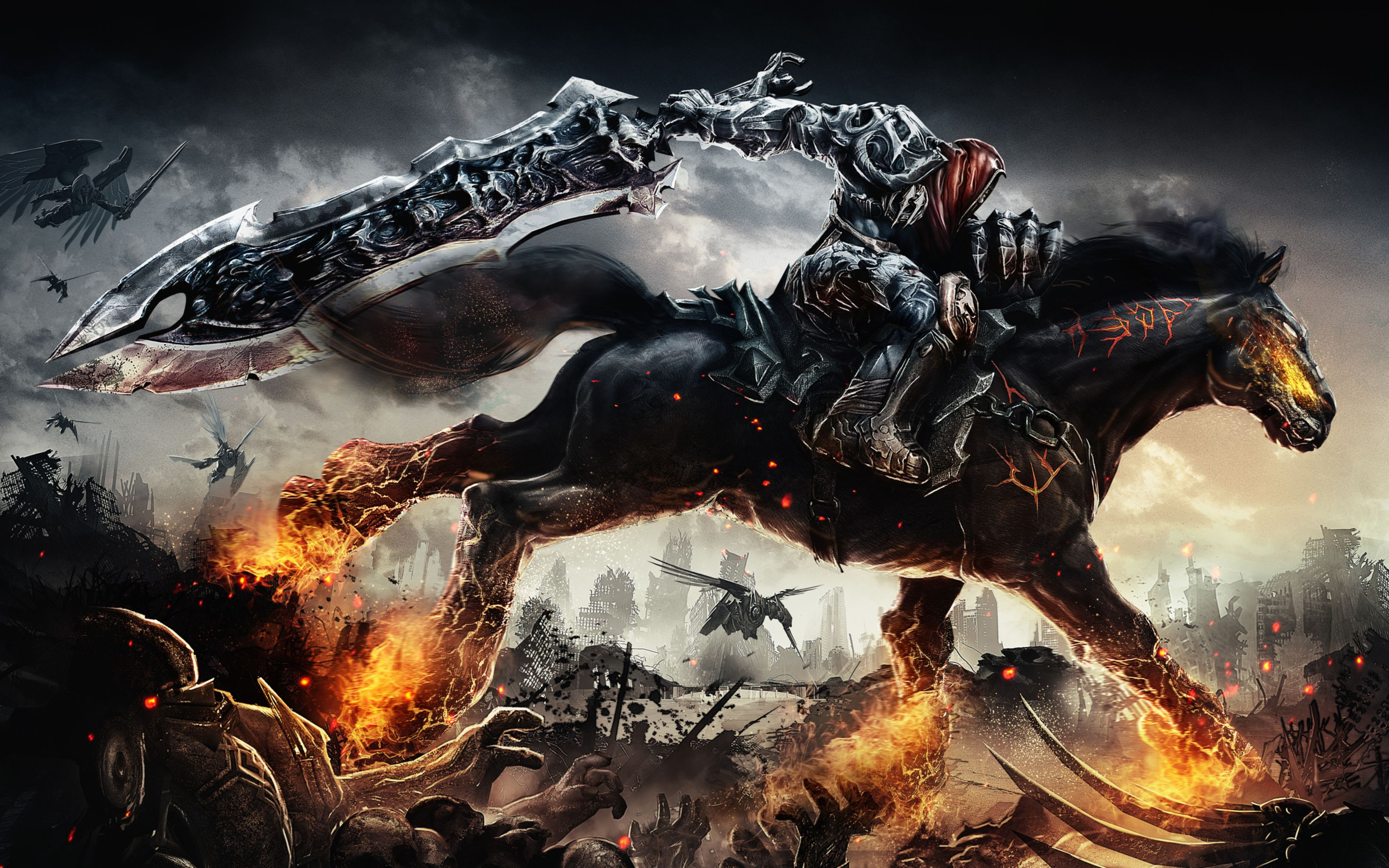 Download free HD Darksiders Game Wide Wallpaper, image
