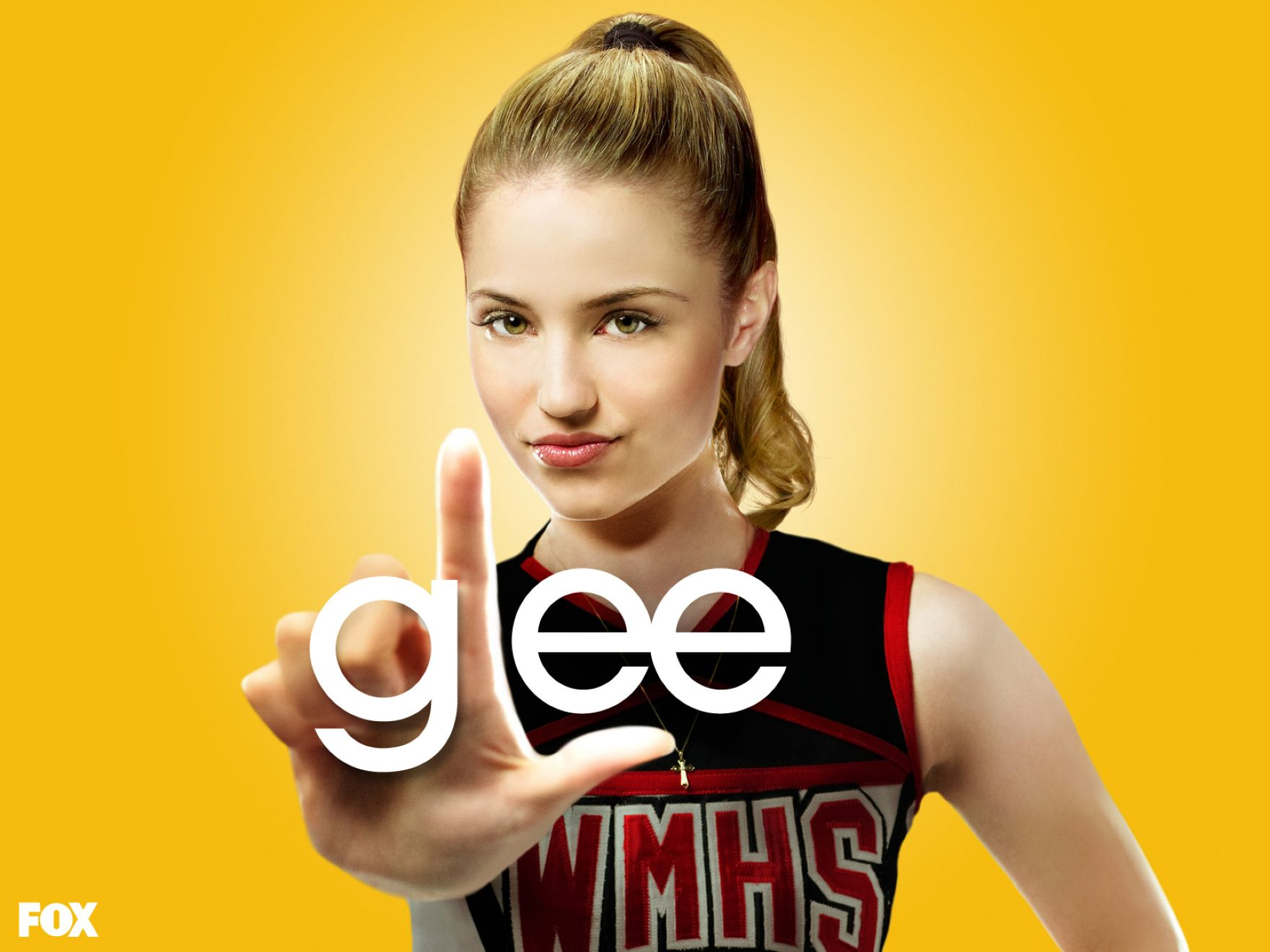 Download free HD Dianna Agron In Glee Normal Wallpaper, image