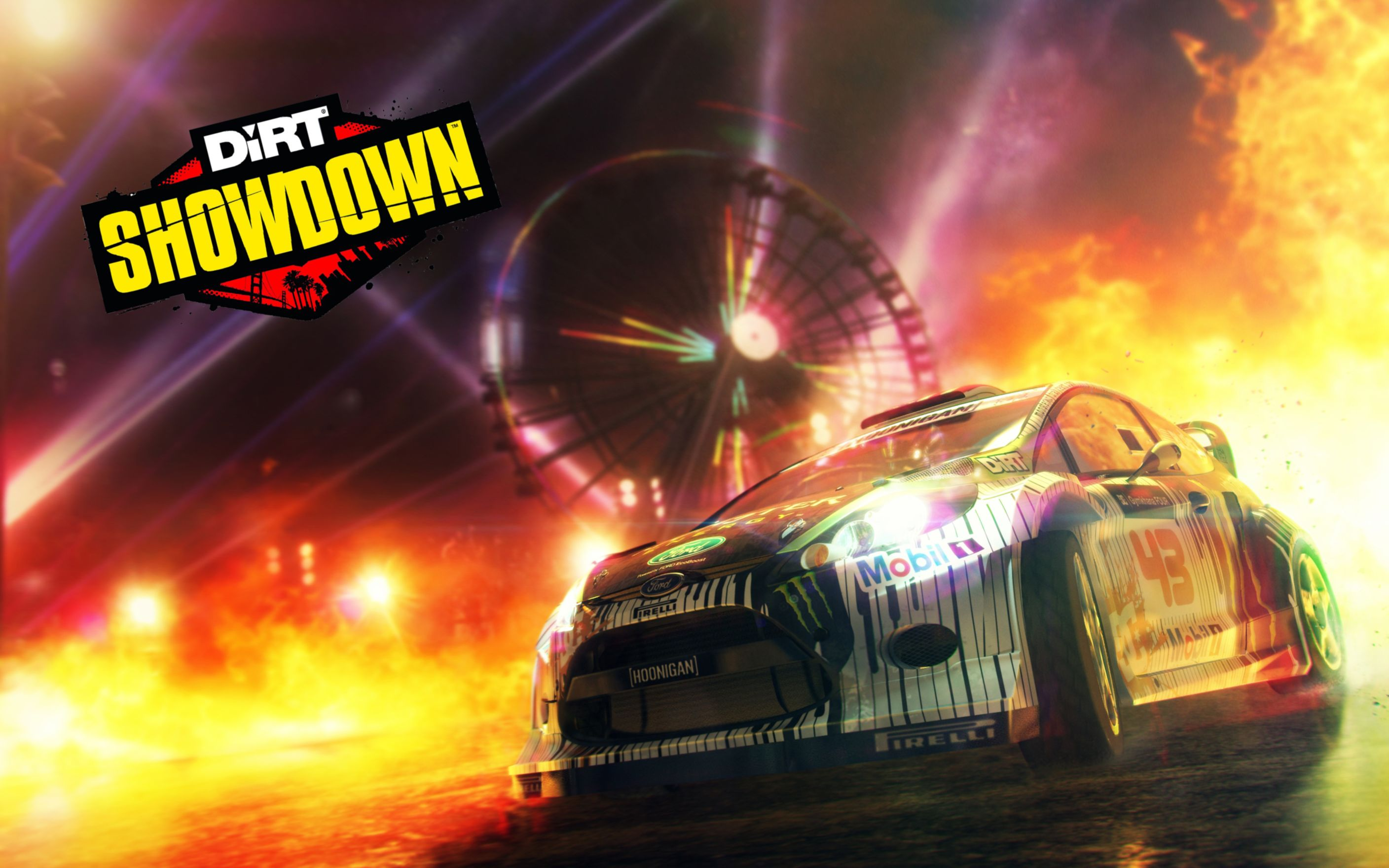Download free HD Dirt Showdown Demolition Derby Wide Wallpaper, image