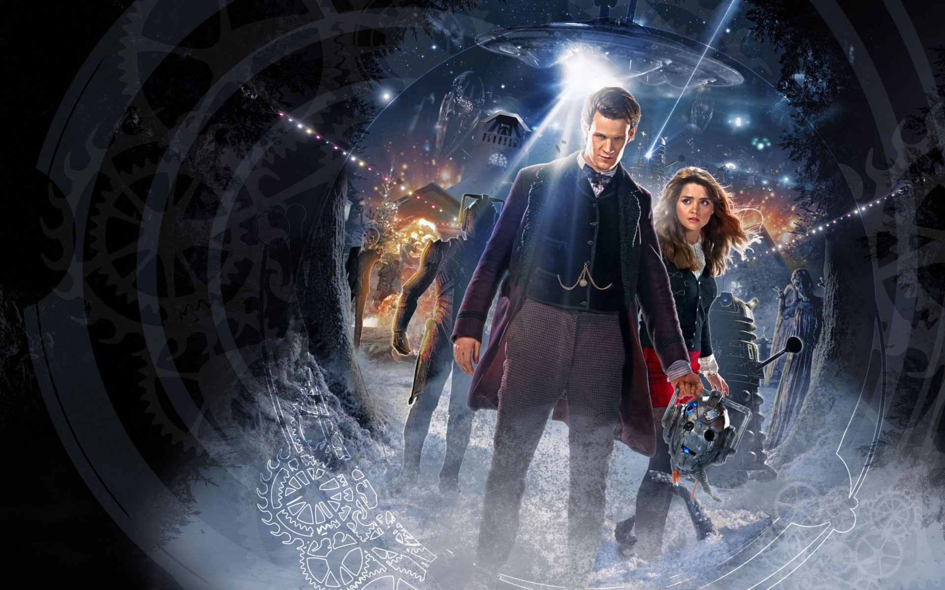 Doctor Who Time of The Doctor Wide Wallpaper