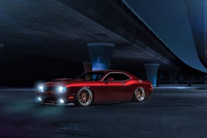 Dodge Challenger Avant Garde Wheels Wide Wallpaper