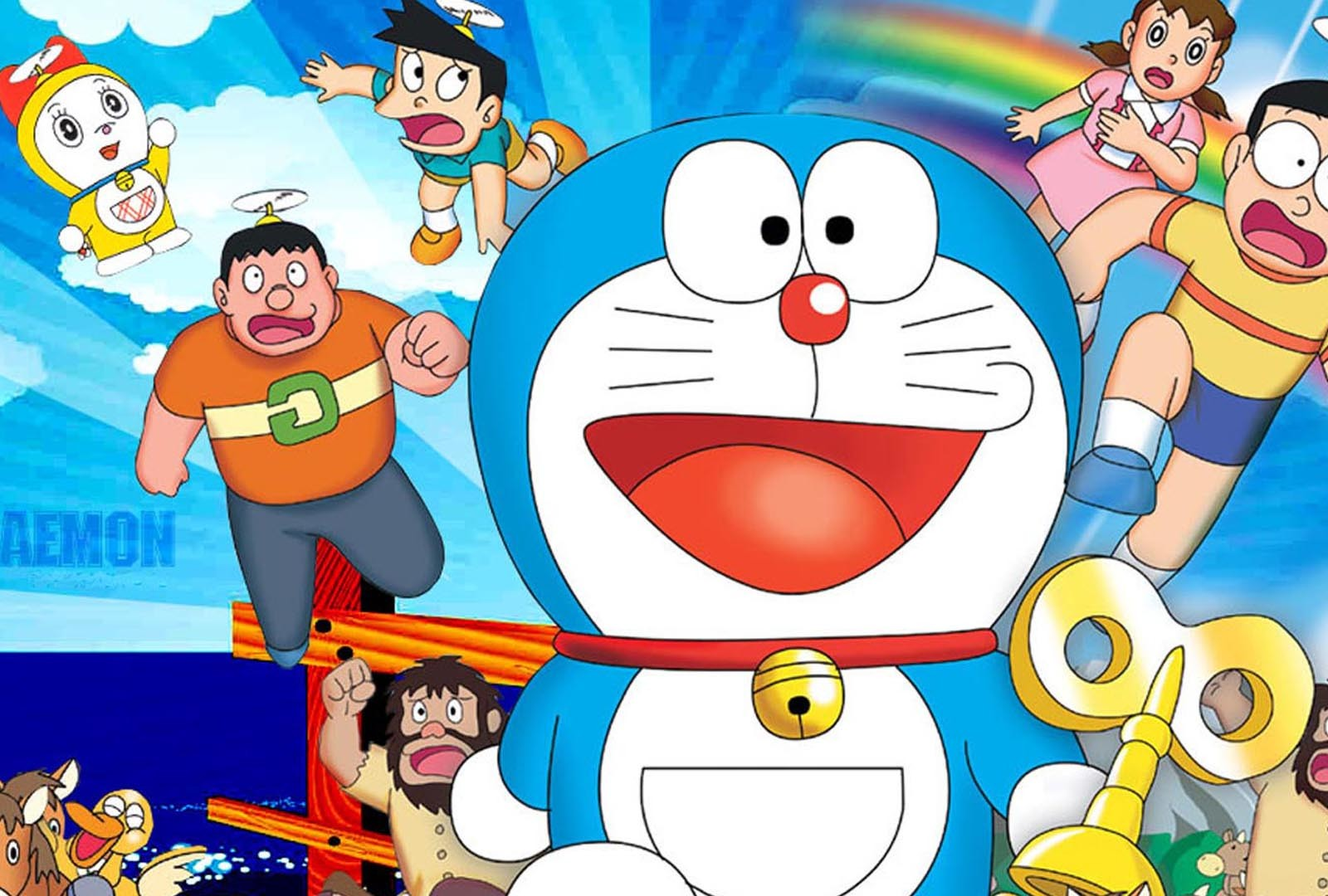 Doraemon 3d Cartoon Hd For Android Wallpaper Desktop Hd Wallpaper