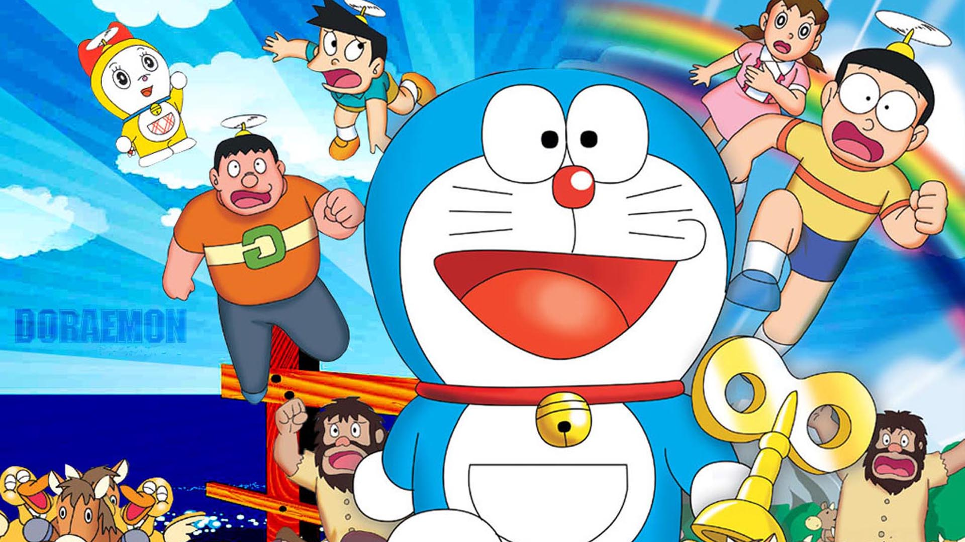 Download free HD Doraemon 3D Cartoon HD for Android Wallpaper, image