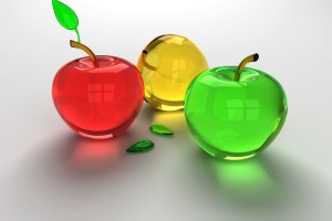 Download Download Background 3D Apple Colorful Wallpaper Free Wallpaper on dailyhdwallpaper.com